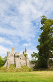 Plessis-Mace Chateau Royalty Free Stock Photos