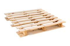 Pálete de madeira do transporte Foto de Stock