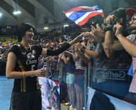 Pleumjit Thinkaow av Thailand Royaltyfri Fotografi