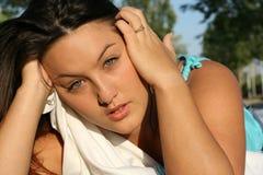 pleurer Photo stock