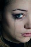 Pleurer de fille Photos libres de droits