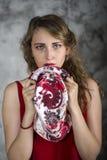 Pleurer de jeune femme Photo libre de droits