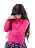 Pleurer triste de fille photos libres de droits