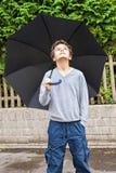 Pleut-il ? Photographie stock libre de droits