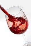 Pleuvoir à torrents de vin rouge Photo libre de droits