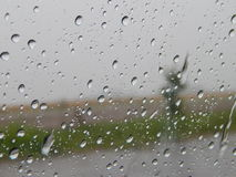 pleuvoir Photo stock