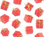 Pleuvoir de cadeau Photographie stock libre de droits