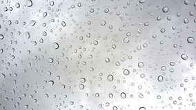 Pleuvoir les baisses Image libre de droits