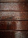 Pleuvoir les baisses Photo libre de droits