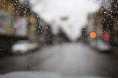 Pleuvoir les baisses Photos stock