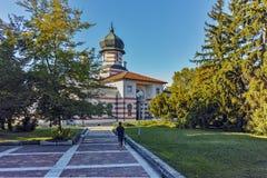 PLEVEN, ΒΟΥΛΓΑΡΊΑ - 20 ΣΕΠΤΕΜΒΡΊΟΥ 2015: Οικοδόμηση του γκαλεριού τέχνης στην πόλη Pleven Στοκ φωτογραφία με δικαίωμα ελεύθερης χρήσης