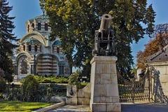 PLEVEN, ΒΟΥΛΓΑΡΊΑ - 20 ΣΕΠΤΕΜΒΡΊΟΥ 2015: ST George το μαυσωλείο παρεκκλησιών κατακτητών, πόλη Pleven Στοκ εικόνα με δικαίωμα ελεύθερης χρήσης