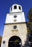 PLEVEN BULGARIEN - 20 SEPTEMBER 2015: Kyrka av St Nicholas i stad av Pleven Arkivbild