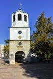 PLEVEN BULGARIEN - 20 SEPTEMBER 2015: Kyrka av St Nicholas i stad av Pleven Royaltyfria Foton