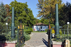 PLEVEN BULGARIEN - 20 SEPTEMBER 2015: Museum av den ryska kejsaren Alexander II, stad av Pleven Royaltyfri Bild