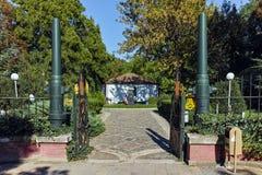 PLEVEN BULGARIEN - 20 SEPTEMBER 2015: Museum av den ryska kejsaren Alexander II, stad av Pleven Fotografering för Bildbyråer