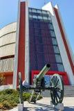 PLEVEN BULGARIEN - 20 SEPTEMBER 2015: Panorama den Pleven epopeen 1877 i stad av Pleven Fotografering för Bildbyråer