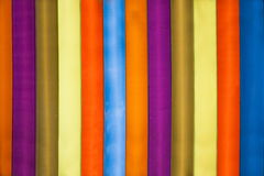Plexiglass ribbons Stock Photo