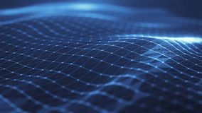 Plexus abstract network titles technology digital background.