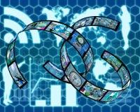 Plexus d'Internet Photos libres de droits