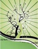 plexus drzewa royalty ilustracja