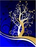 plexus drzewa ilustracja wektor