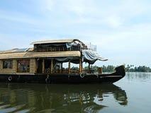 Plezierbootrivier in zuidelijk India Royalty-vrije Stock Fotografie