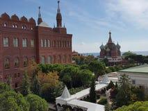 Plezierige het paleis van het Kremlin Royalty-vrije Stock Fotografie