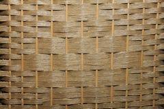 Pliage en bambou de tissage d'arbre de rotin image libre de droits