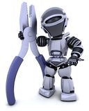 pliars robot Zdjęcia Stock