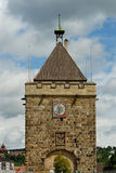 Pliensauturm tower in the city Esslingen am Neckar Stock Image