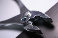 plier tool close-up Stock Image
