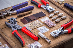 Pliers and accessories Royalty Free Stock Photos
