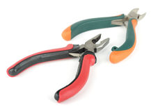 Pliers isolated on white background Stock Image