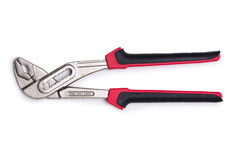 Pliers isolated on the white background Royalty Free Stock Photography