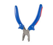 Pliers isolated on a white Royalty Free Stock Image