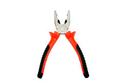 Pliers. Isolated on a white background. Horizontal position Stock Photos