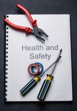 Pliers and screwdrivers Stock Photo