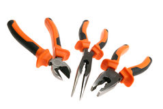 Pliers set Royalty Free Stock Photo