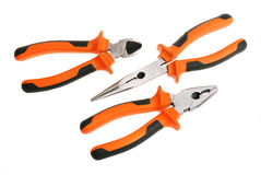 Pliers set Royalty Free Stock Photos
