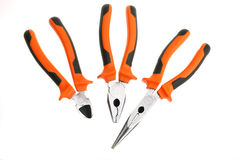 Pliers set Royalty Free Stock Images