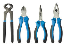 Pliers set Stock Photo