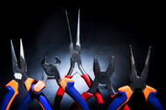 Pliers in a set Stock Photography