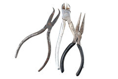 Pliers and similar tools Royalty Free Stock Image