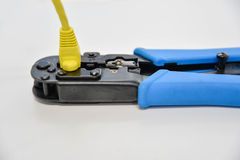 Pliers to Ethernet Stock Photos