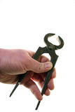 Pliers, tongs, carpenter pincers Stock Images