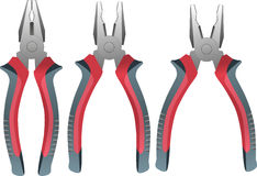 Pliers tool Royalty Free Stock Images