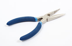Pliers on white background Stock Image