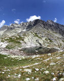 5 plies Spisskych - tarns в высоком Tatras, Словакии Стоковое Фото