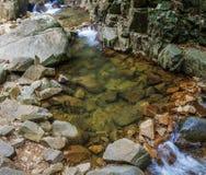 Pliew vattenfall på Chanthaburi, Thailand arkivbild